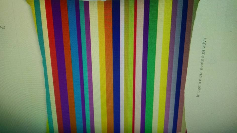 ALMOFADA FUN STRIPES 40 X 40 CMS